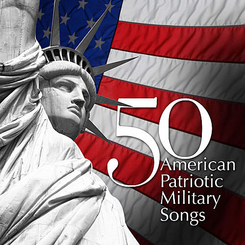50 American Patriotic Military Songs von Various Artists