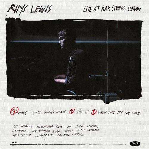 Live At Rak Studios de Rhys Lewis