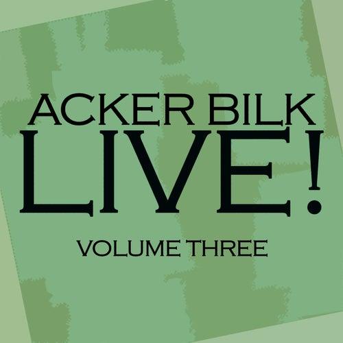 Live! Vol. 3 fra Acker Bilk