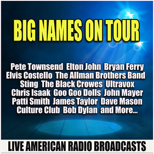 Big Names on Tour (Live) de Various Artists