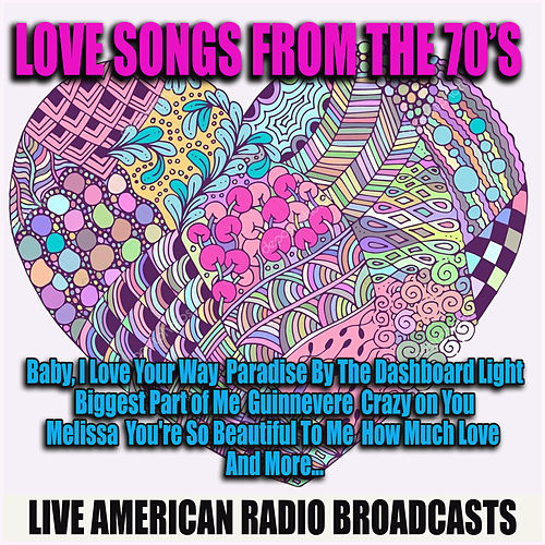 Love Songs from the 70's (Live) de Various Artists
