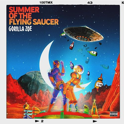 Summer Of The Flying Suacer de Gorilla Zoe