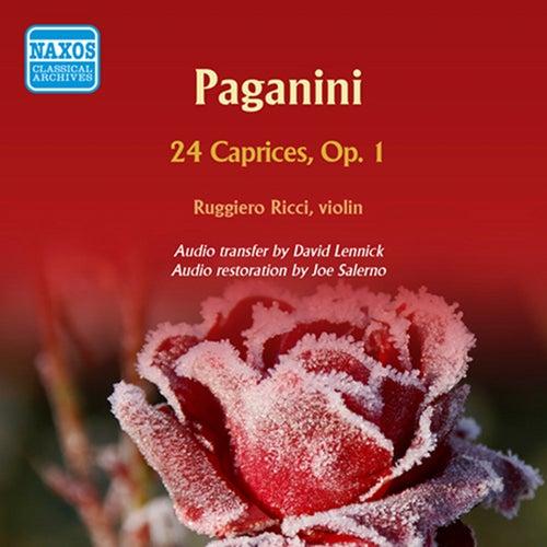 Paganini: 24 Caprices, Op. 1 de Ruggiero Ricci