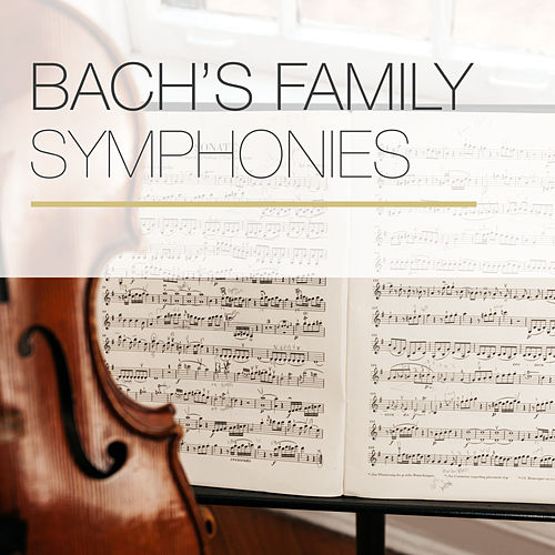 Bach's Family Symphonies by Robert Masters Chamber Orchestra