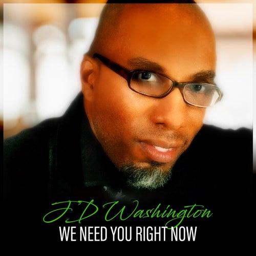 We Need You Now de Jd Washington