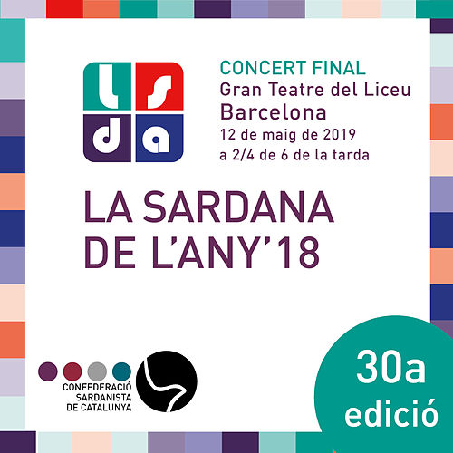La Sardana de L'Any 2018 (Directe) by Varis Artistes