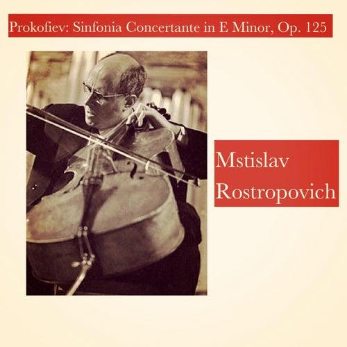 Prokofiev: Sinfonia Concertante in E Minor, Op. 125 de Mstislav Rostropovich