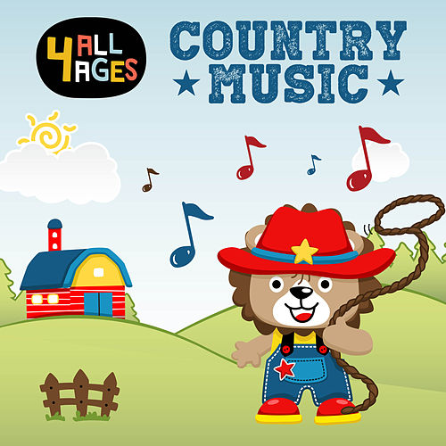 4 ALL AGES: Country Music de Various Artists