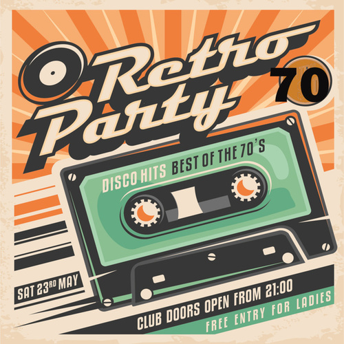 70's Retro Party by Various Artists
