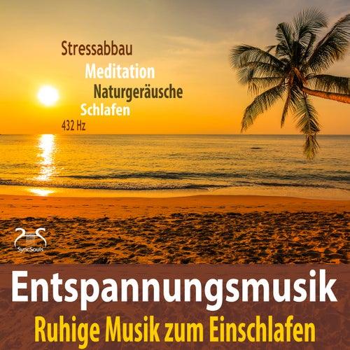 Entspannungsmusik - Stressabbau, Ruhige Musik zum Einschlafen, 432Hz, Meditation, Naturgeräusche, Schlafen von Max Entspannung
