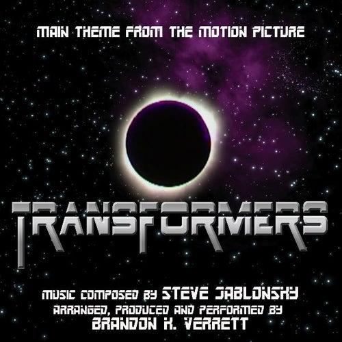Transformers (2007) - Theme from the Motion Picture (feat. Brandon K. Verrett) - Single von Steve Jablonsky