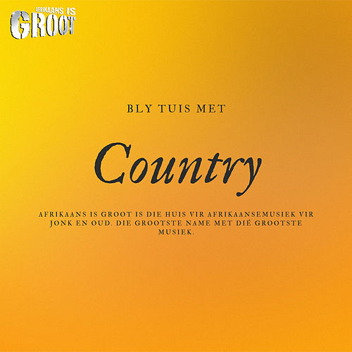 Bly Tuis Met Country de Various Artists