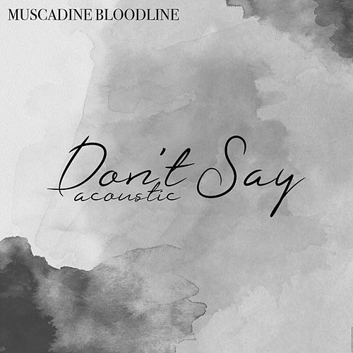 Don't Say Acoustic by Muscadine Bloodline