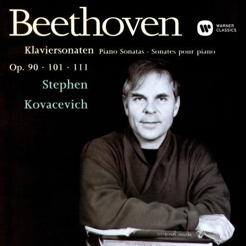 Beethoven: Piano Sonatas Nos 27, 28 & 32 by Stephen Kovacevich