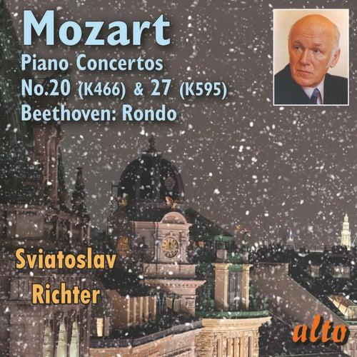 Mozart Piano Concertos Nos. 20 & 27, Beethoven Rondo - Richter de Sviatoslav Richter