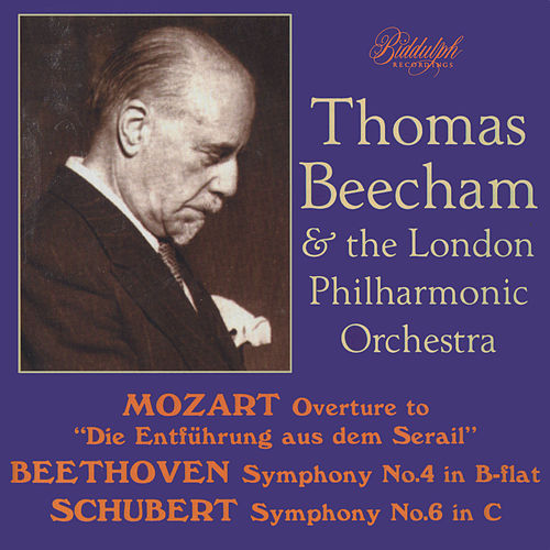 Thomas Beecham & The London Philharmonic Orchestra - Mozart, Beethoven, Schubert de Sir Thomas Beecham