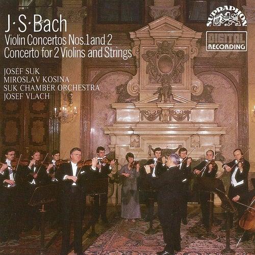 Bach: Violin Concertos Nos. 1 & 2, Concertos for 2 Violins and Strings by Josef Suk