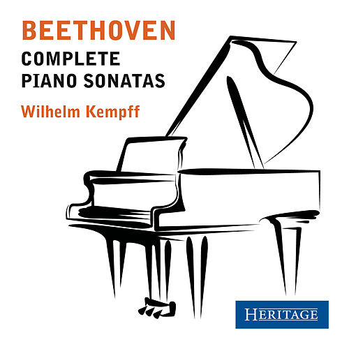 Beethoven: Complete Piano Sonatas by Wilhelm Kempff