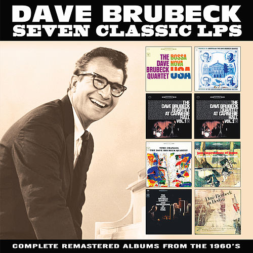 Seven Classic LPs by Dave Brubeck
