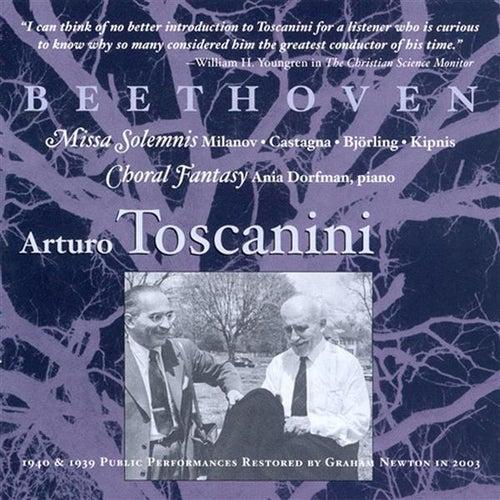 Beethoven: Missa Solemnis (Milanova. Catagna, Bjorling, Kipnis) / Choral Fantasy (Toscanini) (1939) von Various Artists