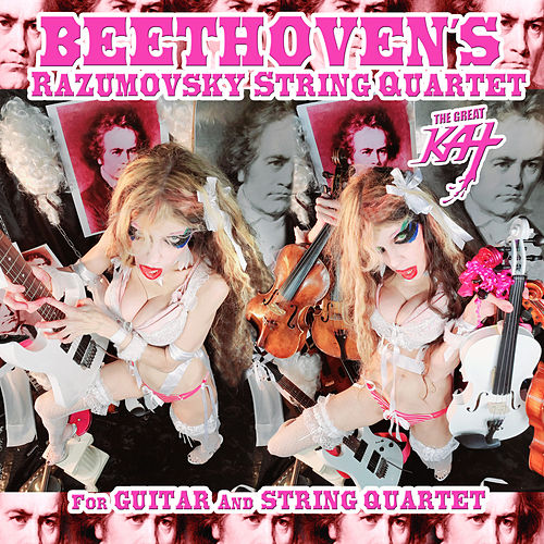 Beethoven's Razumovsky String Quartet For Guitar And String Quartet by The Great Kat