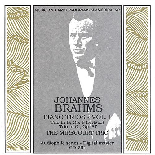 Brahms: Piano Trios Nos. 1 and 2 by The Mirecourt Trio