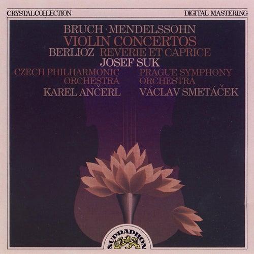 Bruch, Mendelssohn, Berlioz: Violin Concertos von Josef Suk