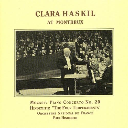 Mozart: Piano Concerto No. 20 / Hindemith: 4 Temperaments (Haskil, Hindemith) (1957) de Clara Haskil