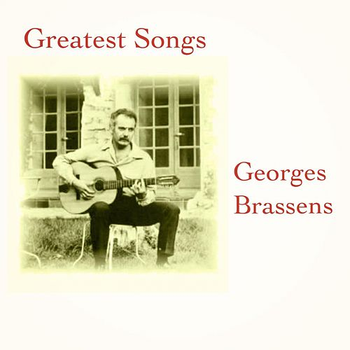 Greatest songs by Georges Brassens