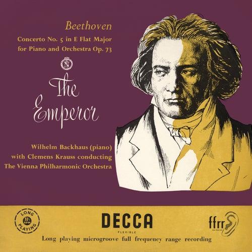 """Beethoven: Piano Concerto No. 5 """"Emperor"""" de Wilhelm Backhaus"""