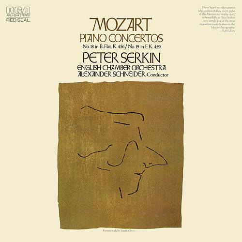 Mozart: Piano Concertos Nos. 18 & 19 de Peter Serkin