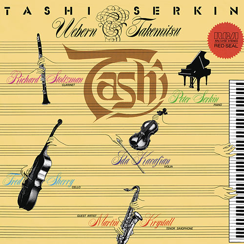 Webern & Takemitsu: Chamber & Piano Works de Peter Serkin