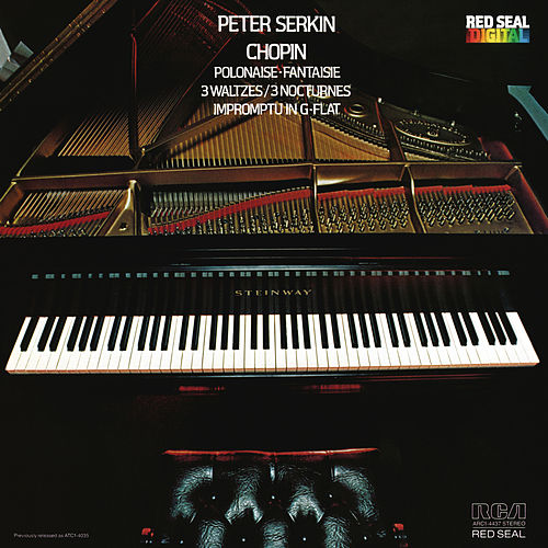 Chopin: Polonaise & Fantaisie & 3 Waltzes & Impromptu in G-Flat de Peter Serkin