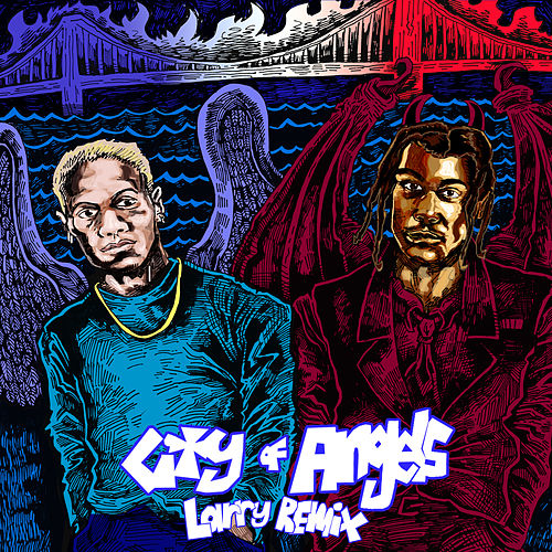 CITY OF ANGELS (Larry Remix) de 24kgoldn