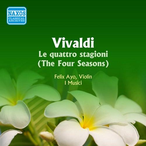 Vivaldi: 4 Seasons (The) (Ayo / I Musici) (1956) by Felix Ayo