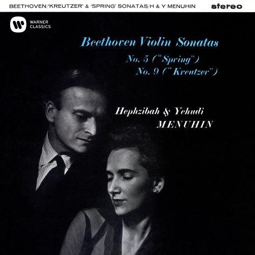 Beethoven: Violin Sonatas Nos. 5 'Spring' & 9 'Kreutzer' de Yehudi Menuhin