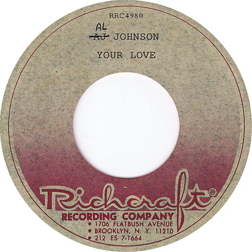 Your Love de Al Johnson