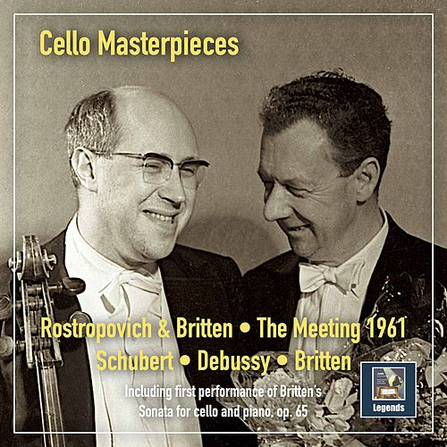 Cello Masterpieces: The Meeting 1961 (Remastered 2020) [Live] de Mstislav Rostropovich