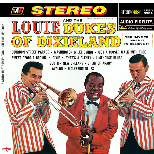 Louie And The Dukes Of Dixieland de Louis Armstrong