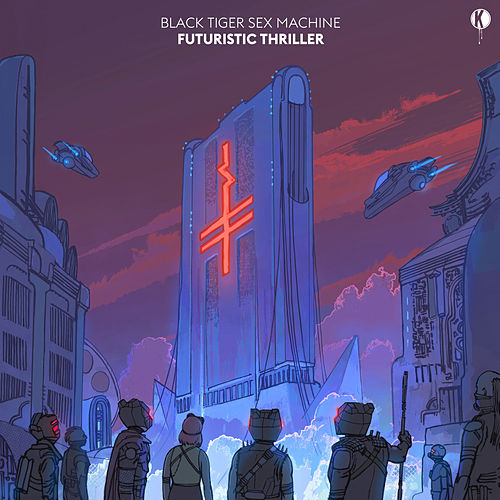 Futuristic Thriller EP de Black Tiger Sex Machine