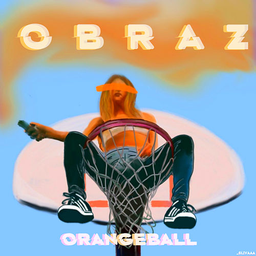 Orangeball by Obraz