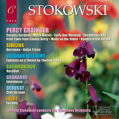 Grainger, Sibelius, Vaughan Williams, Rachmaninov, Granados, Debussy and Ibert von Leopold Stokowski