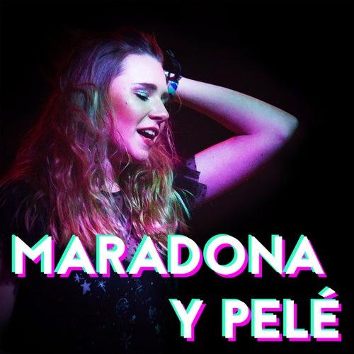 MARADONA Y PELÈ by Natalia Moskal