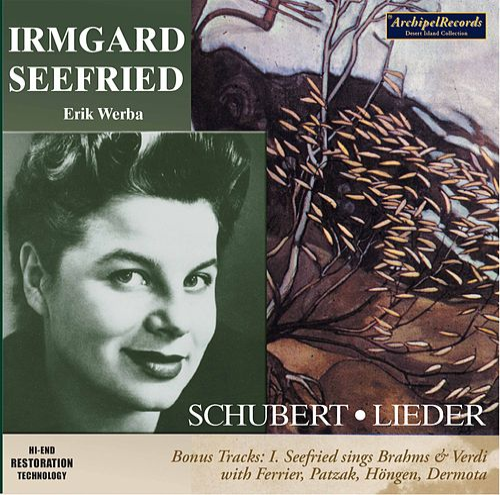 Franz Schubert: 16 Lieder by Irmgard Seefried