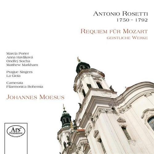Rosetti: Requiem für Mozart - Geistliche Werke von Johannes Moesus