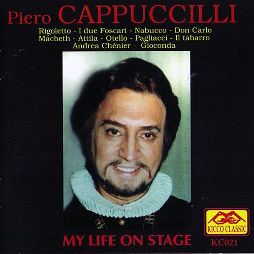 My Life On Stage by Piero Cappuccilli