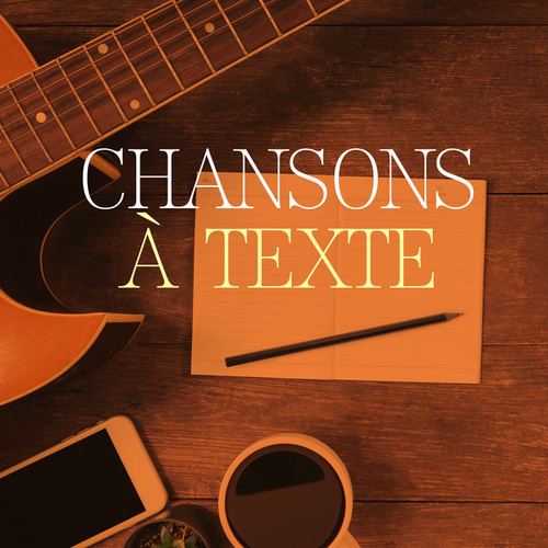 Chansons à texte von Various Artists