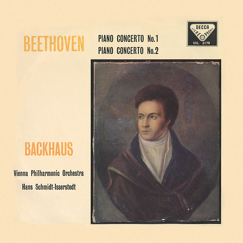 Beethoven: Piano Concertos Nos. 1 & 2 by Wilhelm Backhaus