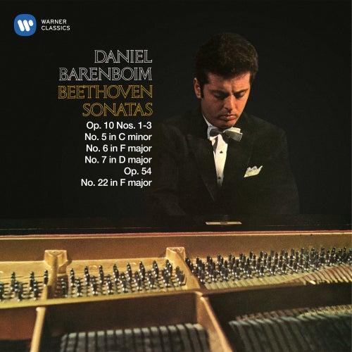 Beethoven: Piano Sonatas Nos. 5, 6, 7, Op. 10 & 22, Op. 54 by Daniel Barenboim
