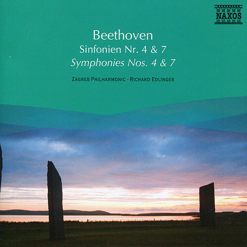 Beethoven: Symphonies Nos. 4 and 7 de Richard Edlinger